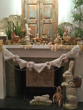 Fascinating Easter Holiday Decoration Ideas For Home15