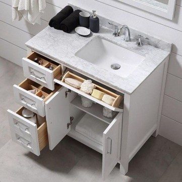 Inspiring Bathroom Remodel Organization Ideas35