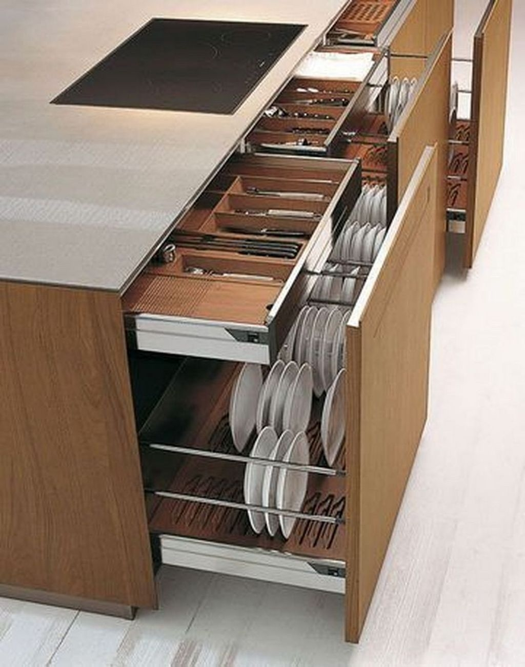 Luxury Kitchen Storage Ideas To Save Your Space23