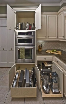 Luxury Kitchen Storage Ideas To Save Your Space32