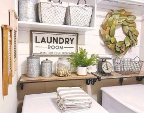 Popular Farmhouse Laundry Room Design Ideas01