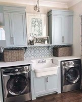 Popular Farmhouse Laundry Room Design Ideas38