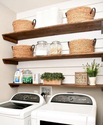 Popular Farmhouse Laundry Room Design Ideas41