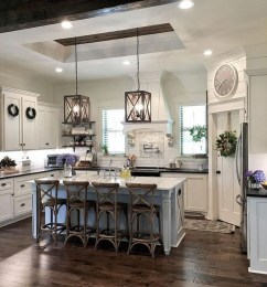 Pretty Farmhouse Kitchen Design Ideas To Get Traditional Accent27