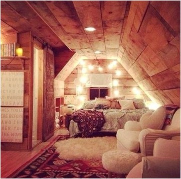 Unusual Attic Room Design Ideas26