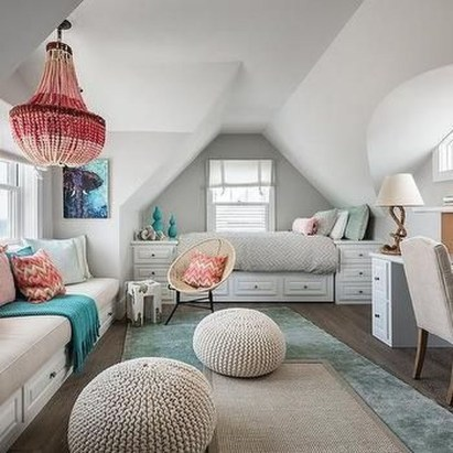 Unusual Attic Room Design Ideas27