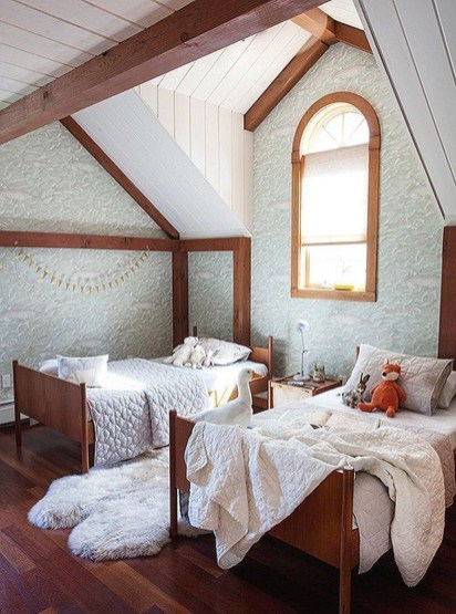 Unusual Attic Room Design Ideas33