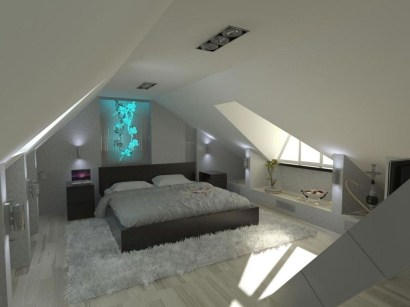 Unusual Attic Room Design Ideas38