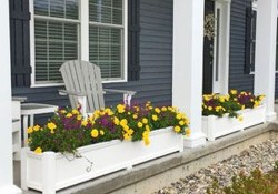 Adorable Porch Planter Ideas That Will Give A Unique Look31