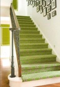 Beautiful Color Ideas For Your Stairs Decoration03