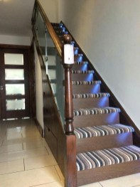 Beautiful Color Ideas For Your Stairs Decoration11