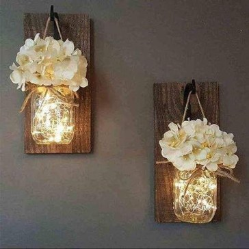 Captivating Diy Lighting Ideas For Small Apartment09