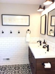 Catchy Subway Tiles Application Ideas For Bathroom04