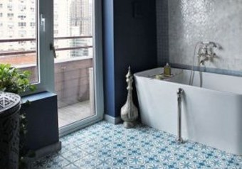 Catchy Subway Tiles Application Ideas For Bathroom05