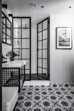 Catchy Subway Tiles Application Ideas For Bathroom24
