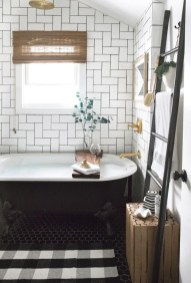 Catchy Subway Tiles Application Ideas For Bathroom41
