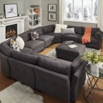 Comfortable Sutton U Shaped Sectional Ideas For Living Room08
