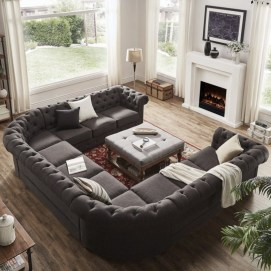 Comfortable Sutton U Shaped Sectional Ideas For Living Room15