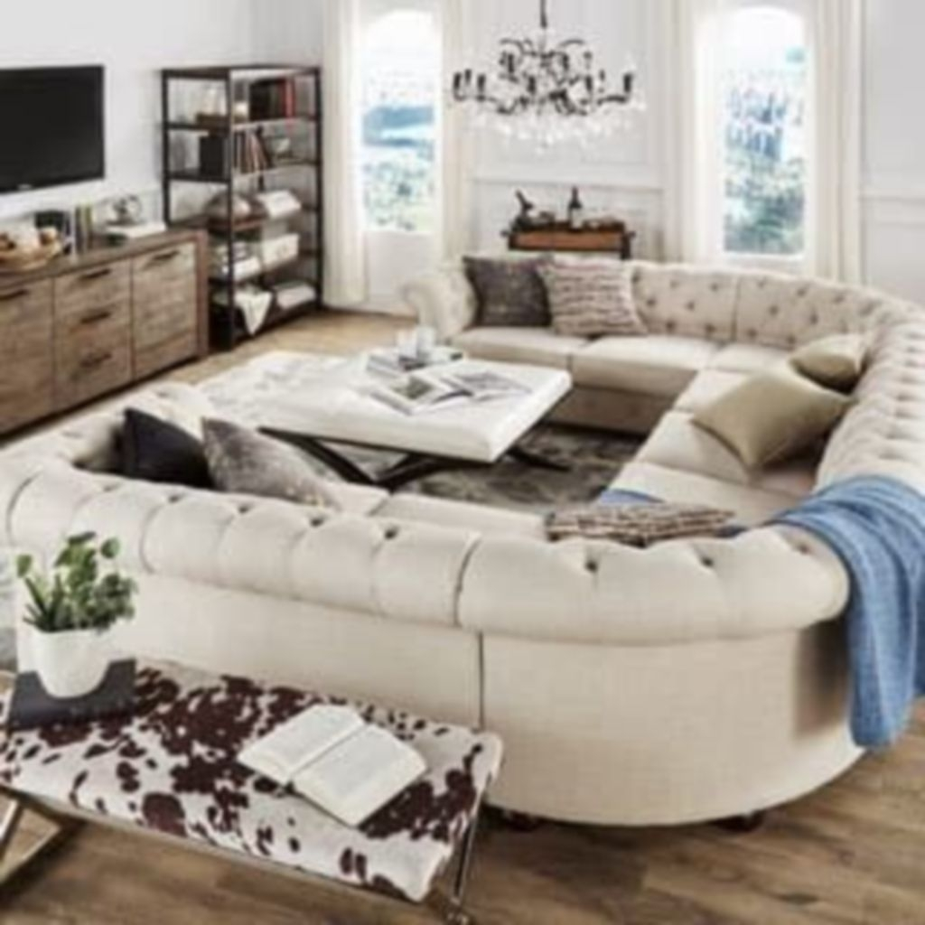 Comfortable Sutton U Shaped Sectional Ideas For Living Room17