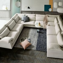 Comfortable Sutton U Shaped Sectional Ideas For Living Room21