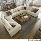 Comfortable Sutton U Shaped Sectional Ideas For Living Room25