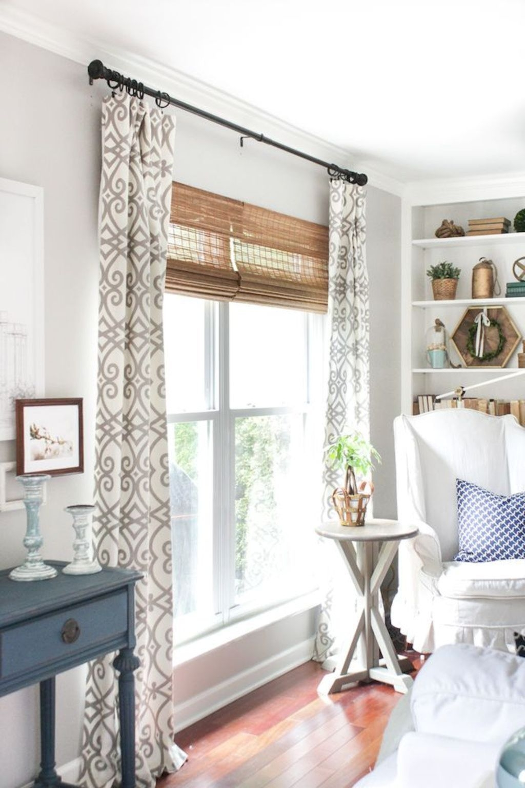 Cool Curtain Ideas For Living Room11