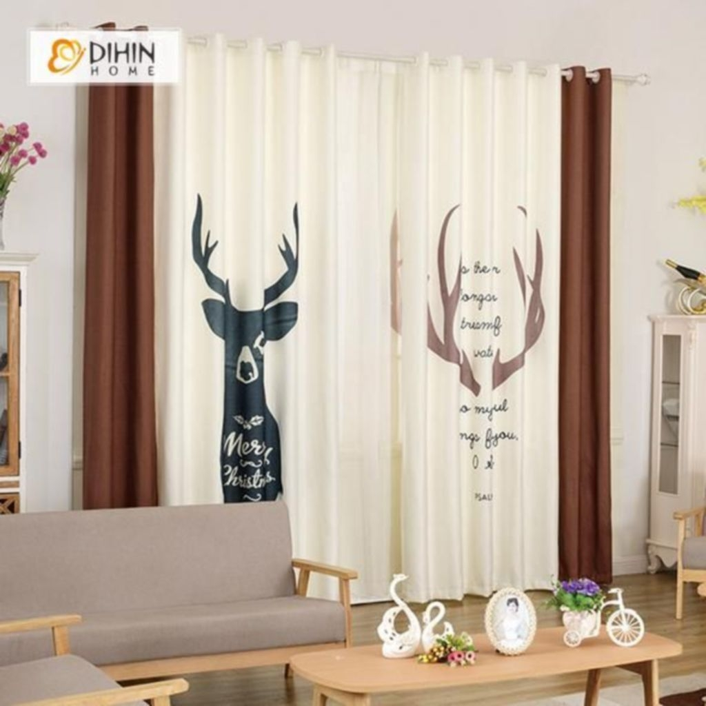 Cool Curtain Ideas For Living Room30