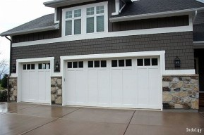 Cute Home Garage Design Ideas For Your Minimalist Home27