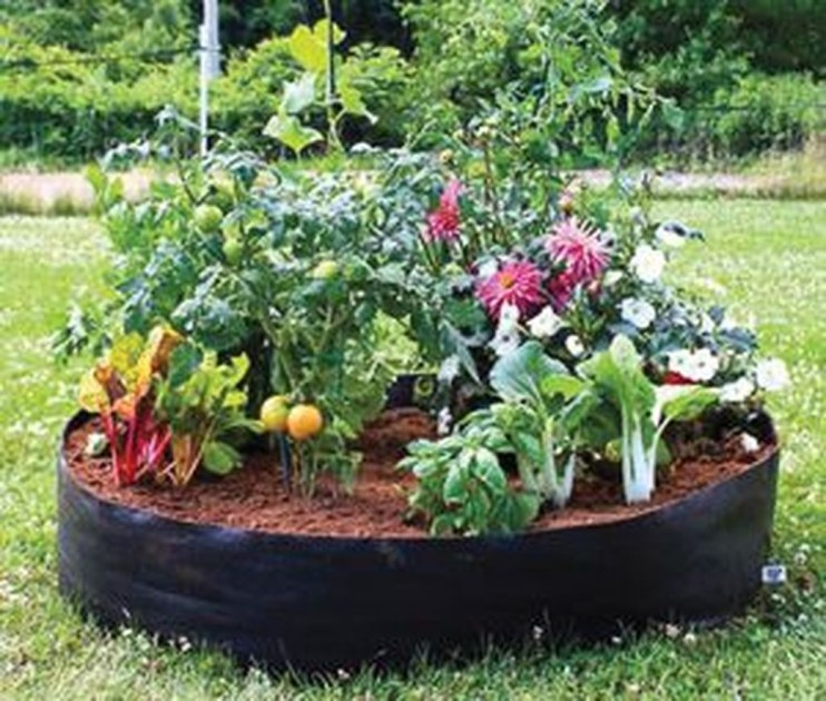 Fancy Diy Flower Beds Ideas For Your Garden30