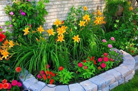 Fancy Diy Flower Beds Ideas For Your Garden47