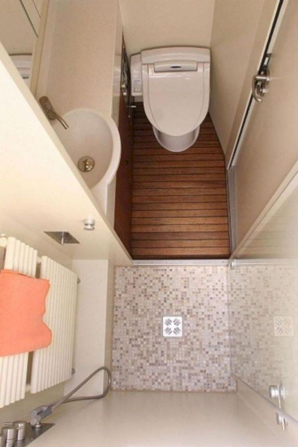 Fascinating Rv Remodel Ideas For Bathroom On A Budget16