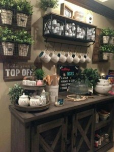 Latest Diy Coffee Station Ideas In Your Kitchen01