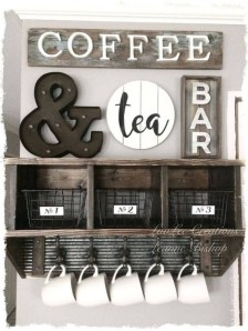 Latest Diy Coffee Station Ideas In Your Kitchen12