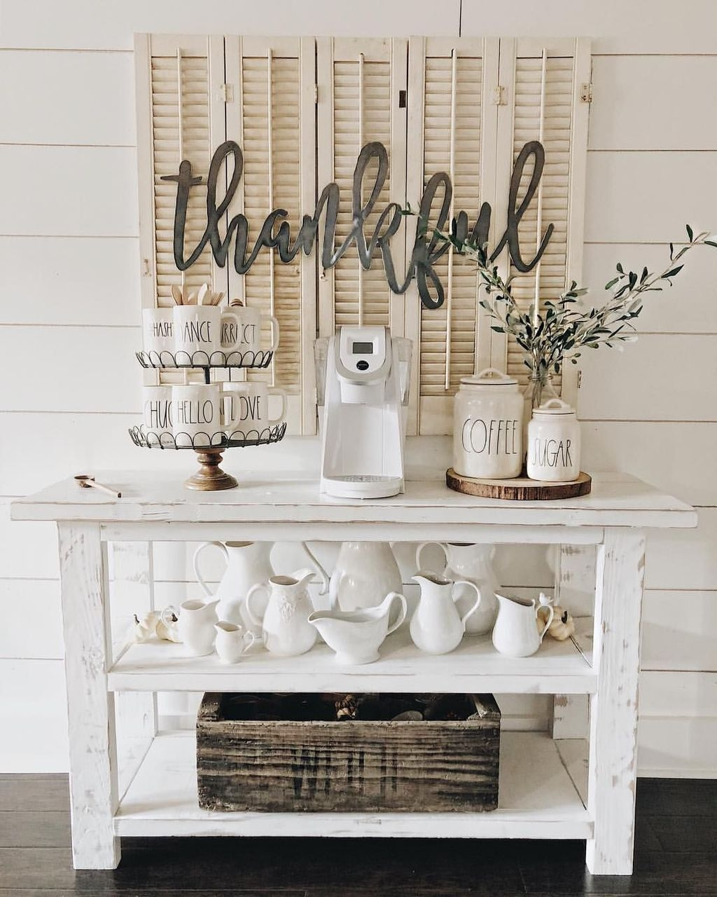 Latest Diy Coffee Station Ideas In Your Kitchen19