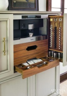 Latest Diy Coffee Station Ideas In Your Kitchen30