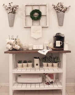 Latest Diy Coffee Station Ideas In Your Kitchen32