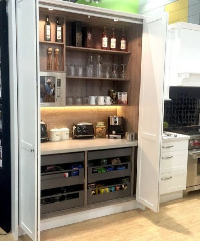 Latest Diy Coffee Station Ideas In Your Kitchen39