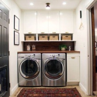 Relaxing Laundry Room Layout Ideas25