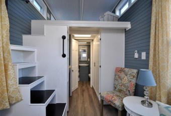 Rustic Tiny House Design Ideas With Two Beds15