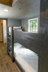 Rustic Tiny House Design Ideas With Two Beds23