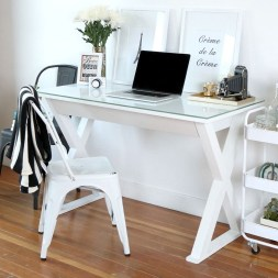 Splendid Monochrome Home Office Decor Ideas To Apply Asap14