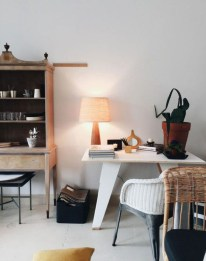 Splendid Monochrome Home Office Decor Ideas To Apply Asap38
