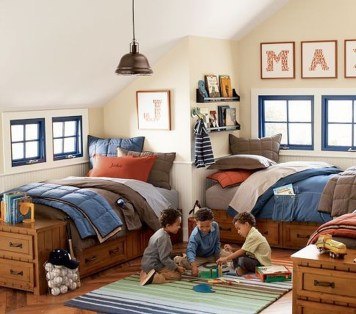 Vintage Shared Rooms Decor Ideas For Teen Boy06