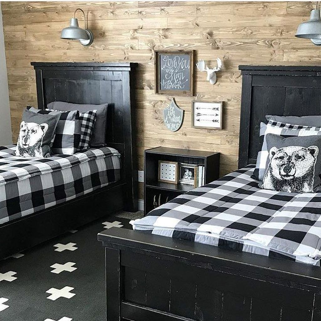 30 Vintage Shared Rooms Decor Ideas For Teen Boy Trendedecor
