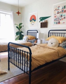 Vintage Shared Rooms Decor Ideas For Teen Boy27