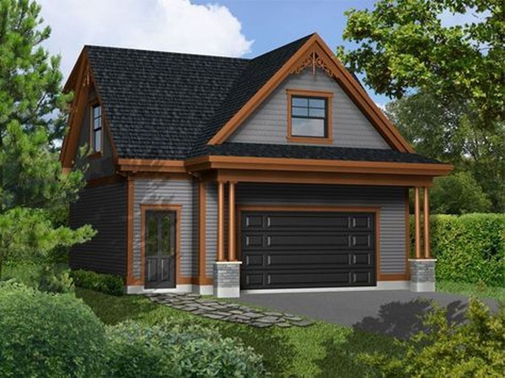 Astonishing House Design Ideas With With Car Garage18