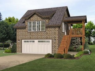 Astonishing House Design Ideas With With Car Garage31