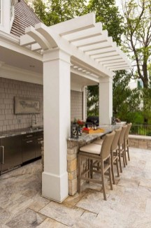 Brilliant Outdoor Kitchen Design Ideas For You Nowaday18