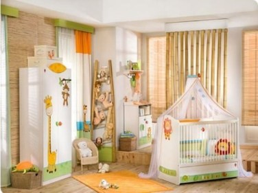 Charming Kids Bedroom Ideas With Jungle Theme To Try02