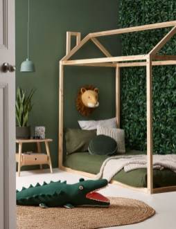 Charming Kids Bedroom Ideas With Jungle Theme To Try16